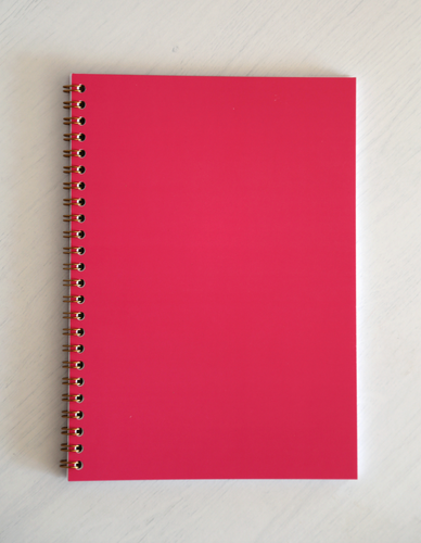 Ryton Spiral Bound Notebook - Pink