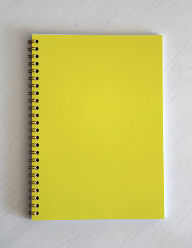 Ryton Spiral Bound Notebook - Yellow