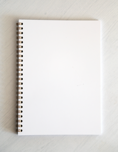 Ryton Spiral Bound Notebook - White