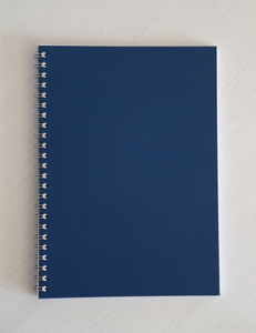 Ryton Spiral Bound Notebook - Blue