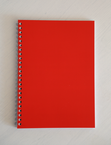 Ryton Spiral Bound Notebook - Red