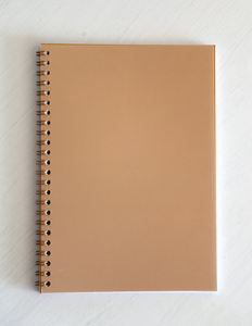 Denia Spiral Bound Notebook - Orange