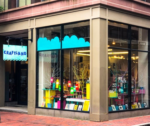 Craftland located at 212 Westminster Street in Downcity Providence, RI
