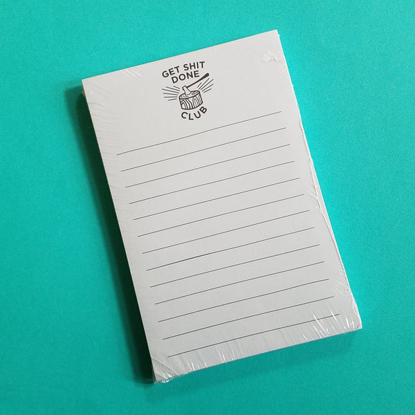 Get Sh*t Done Notepad