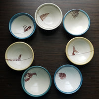 Ceramic Hand Painted Bowls