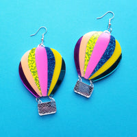 Laser Cut Acrylic Earrings