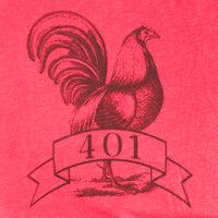401 RI Red Men's T-Shirt