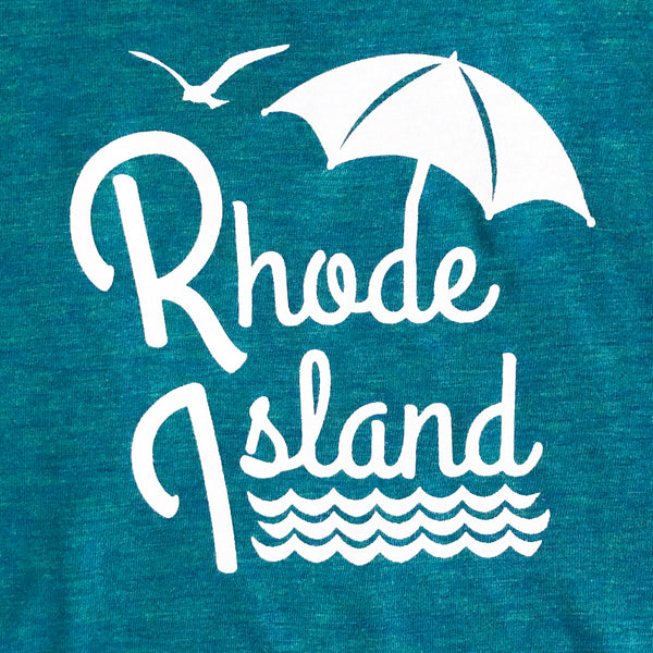 Rhode Island - Umbrella Adult Men's Tee