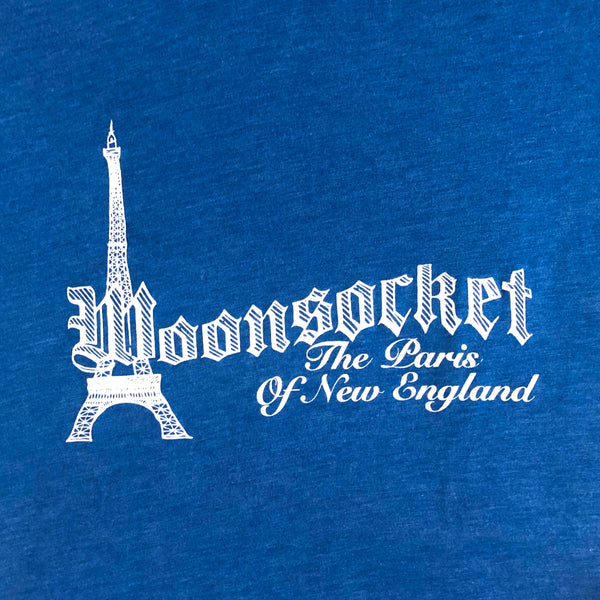 Woonsocket: The Paris of New England - Adult Men's Tee