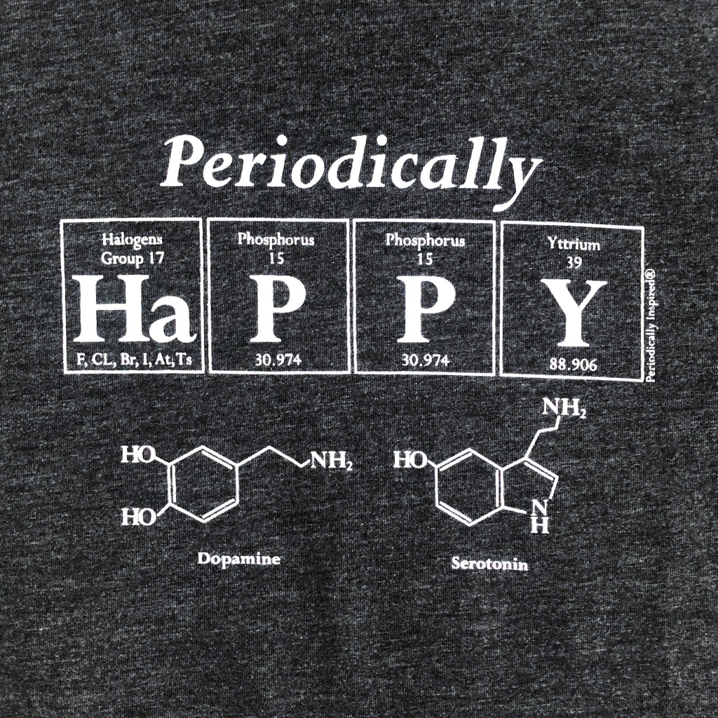 Periodically Happy - Adult Men's T-Shirt