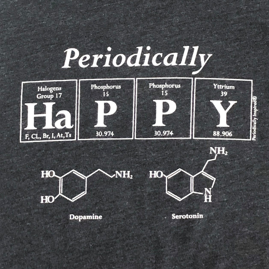 Periodically Happy - Junior Women's T-Shirt