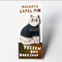 Yellow Owl Pins