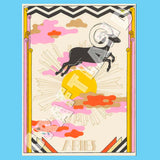 Animal Sleep Stories Zodiac Prints