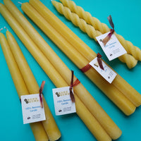 Swift Farms Tapered Beeswax Candles