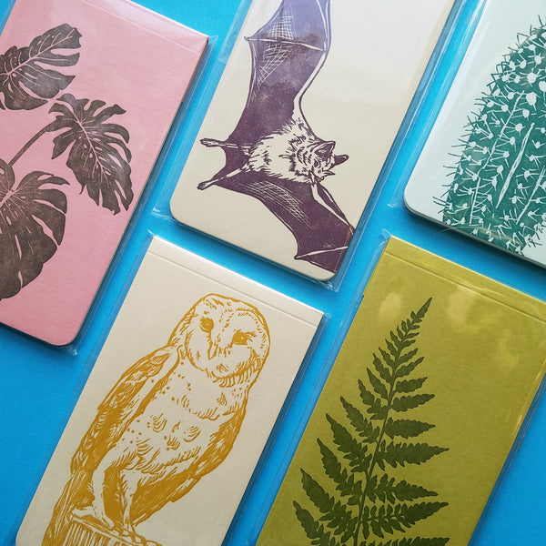 Mini Nature Notepads