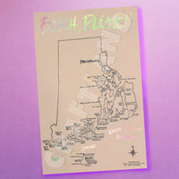Beach Please! Rhode Island Print