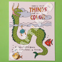 Fishcakes Coloring Book