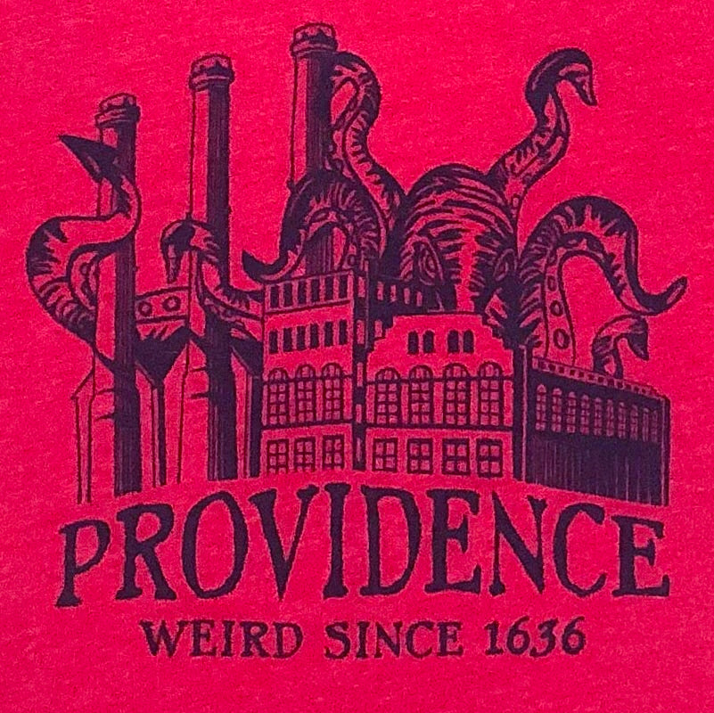 Providence: Weird Since 1636 - Kid's T-shirt