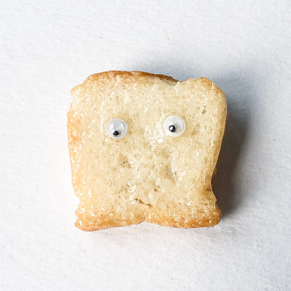 Googly Eye Toast Pin