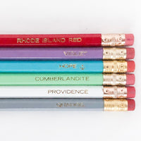 RI Trivia Pencil Set
