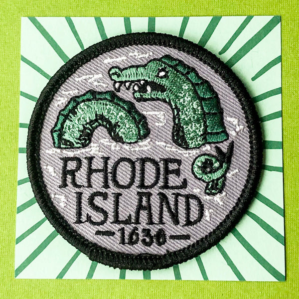 RI Sea Serpent Patch