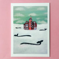 PVD Wedding Cake House Print