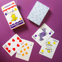 English-Portuguese Bilingual Playing Cards