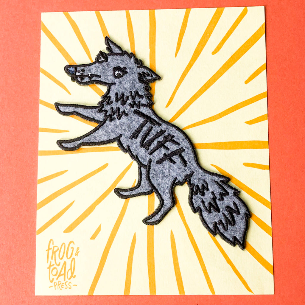 Tuff Wolf Patch