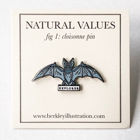 Natural Values Bat Pin