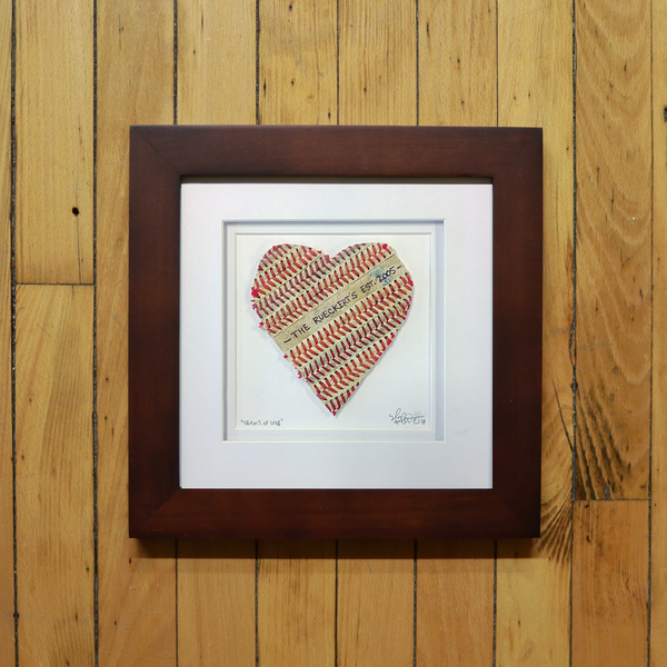 """Seams of Love"" Custom Inscription Artwork"