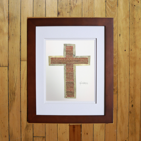 """Two Seam Cross"" Original Artwork"