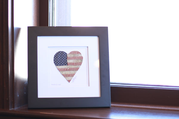"""America's Love"" Original Artwork"