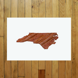 """America At The Seams"" Print of State Artwork"