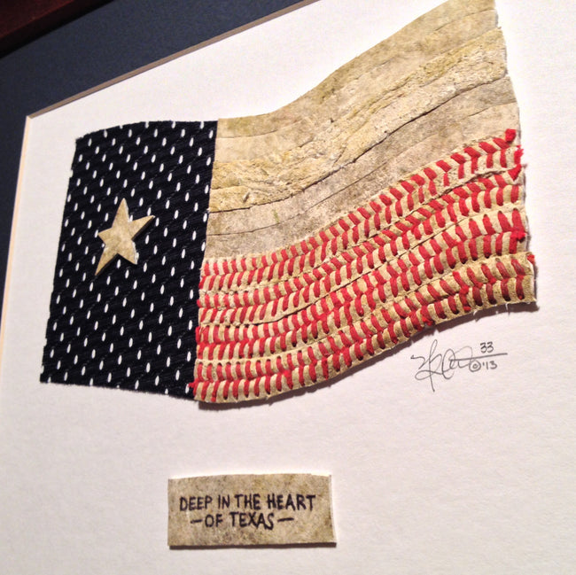 """Texas State Flag"" Original Artwork"