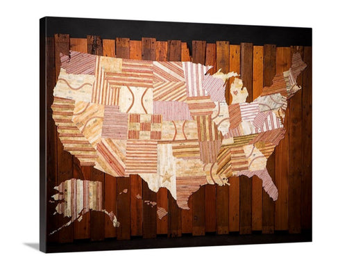 """America at the Seams"" LE/#d Canvas Prints"