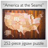 """America at the Seams"" Jigsaw Puzzle"