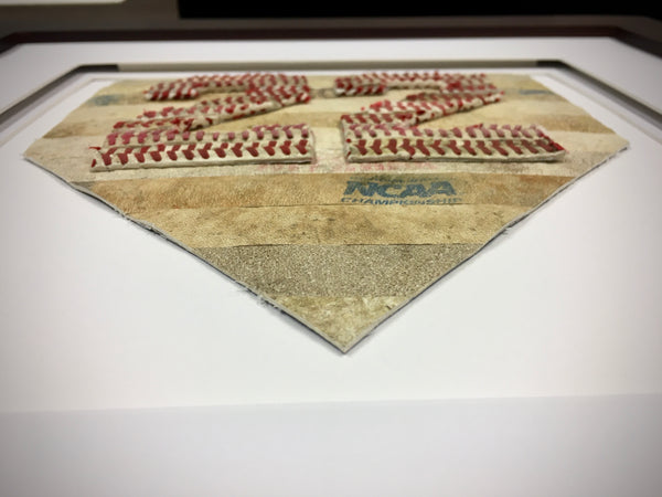 Home Plate with Jersey Number