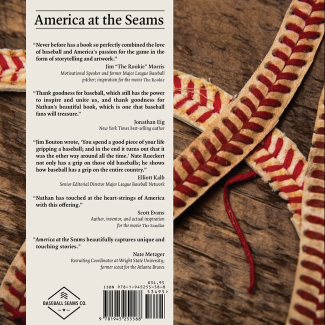 """America At The Seams"" Hardcover Book"