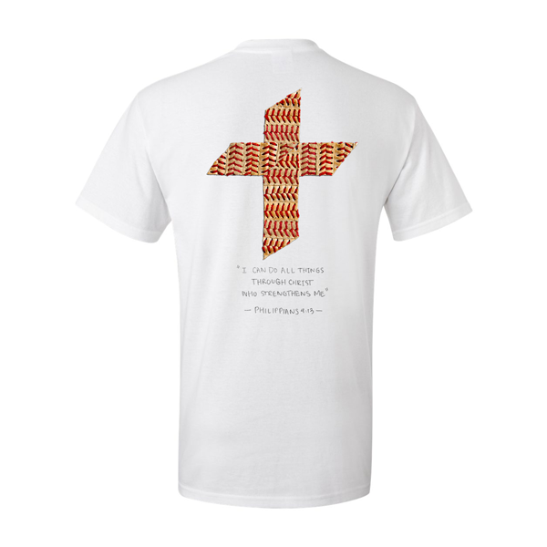 """Play with Purpose"" Baseball Cross Shirt"