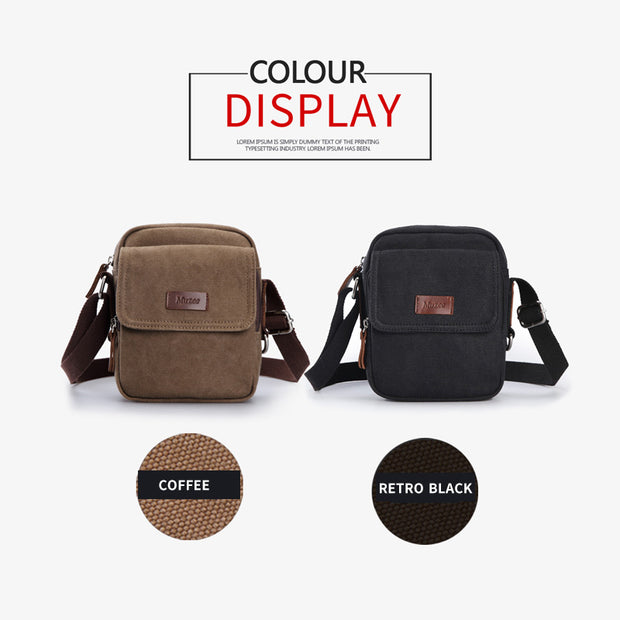 2018 New High Quality Men's Canvas Casual Travel Bag - travelgear4less
