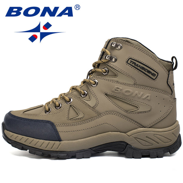 Anti-Slip Men Hiking Shoes - travelgear4less