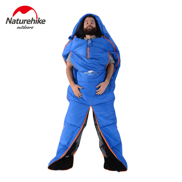 1 Person Special Shape Cotton Waterproof Sleeping Bag - travelgear4less