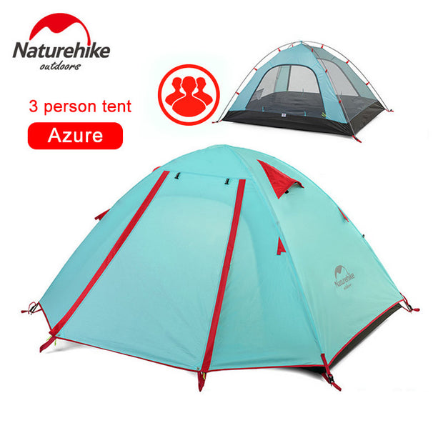 2-3-4 Person Tent Double Layer - travelgear4less