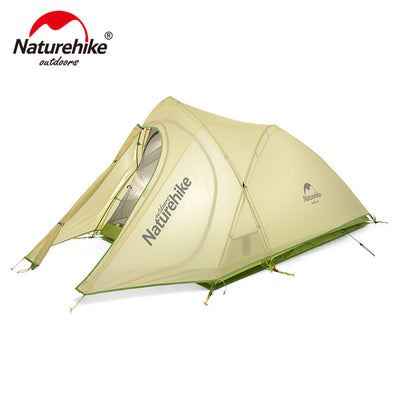 Cirrus Ultralight Tent 2 Person 20D Nylon with Silicon Coated Camping Tent with free Mat - travelgear4less