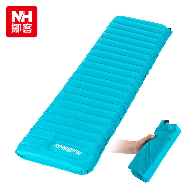 Manually Inflatable Cushion 193x60x9cm Camping Mat - travelgear4less