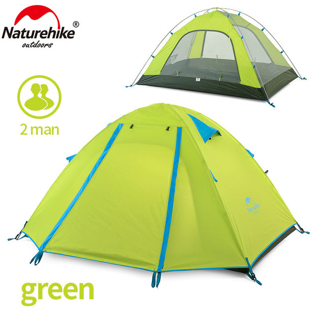 P Series Classics Tent 210T Fabric  For 2 Person NH15Z003-P - travelgear4less