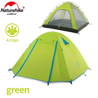 P Series Classics Tent 210T Fabric For 4 Person - travelgear4less