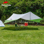 Large Camping Tent Awning Outdoor Beach Awning 6 Persons Tent NH16T013-S without Tent Poles - travelgear4less