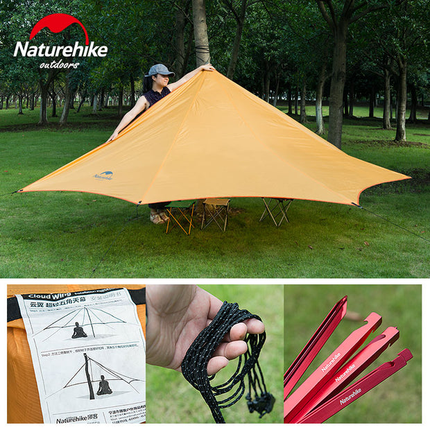 Outdoor Tent 3-4 Person  Waterproof Quick Built - travelgear4less