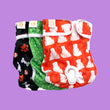Print Female Dog Diapers (Washable & Reusable) - 3 PACK
